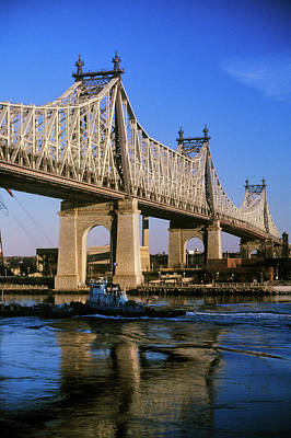 Civil Engineering Photograph - The Queensboro 59th Street Bridge by Panoramic Images
