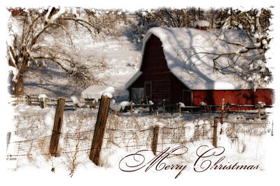 Beve Brown-clark Photograph - The Quiet - A Christmas Card by Beve Brown-Clark Photography