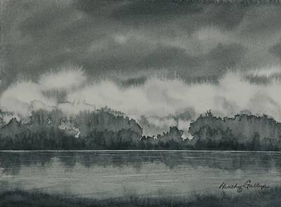 The Quiet Before The Storm Original by Heather Gallup