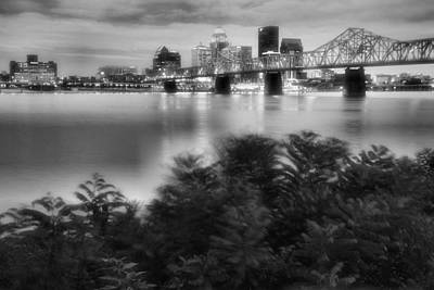 Indiana Landscapes Photograph - The Quiet City by Steven Ainsworth
