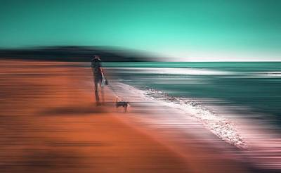 Abstract Dog Wall Art - Photograph - The Quiet Hours by Carmine Chiriac??