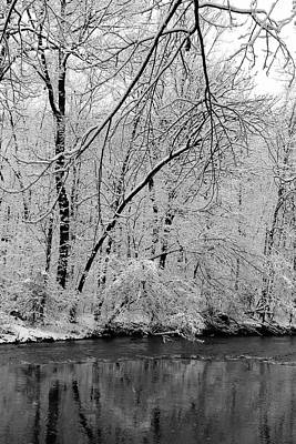 Winter Photograph - The Quiet Of Winter by Stephen Hobbs