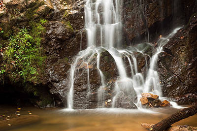Waterfall Photograph - The Quiet Waterfall by Benjamin DeHaven