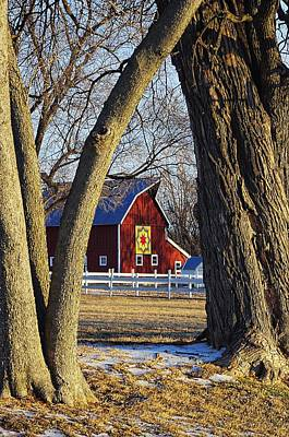 The Quilt Barn Art Print