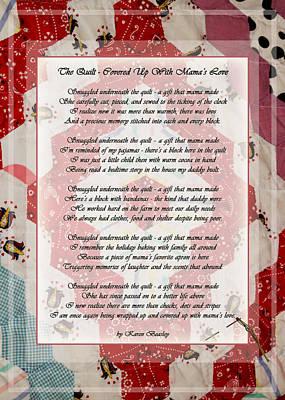 The Quilt Art Print by Karen Beasley