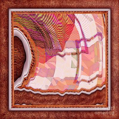The Quilt Art Print by Liane Wright