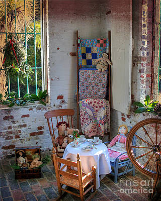 Photograph - The Quilter's Corner by Kathy Baccari