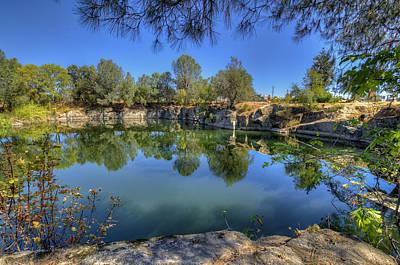 Photograph - The Quinn Quarry by Jim Thompson