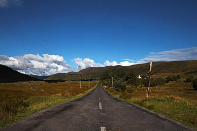The R300 Road At Finny, County Mayo Art Print