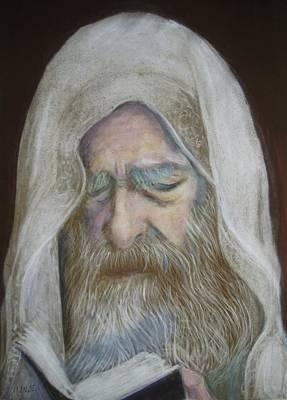 The Rabbi Art Print by Maxwell Mandell