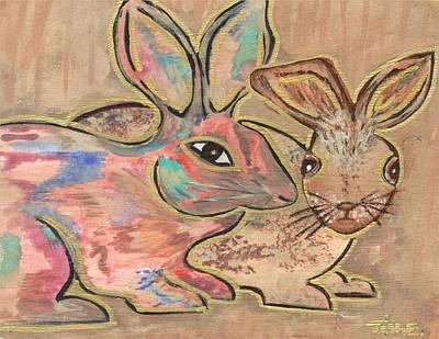 The Rabbit Hole  Art Print by Tish Eggleston