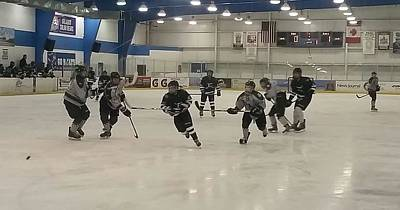 Youth Hockey Photograph - The Race by Kenneth Tomory