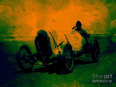 Photograph - The Racer - 20130207 by Wingsdomain Art and Photography