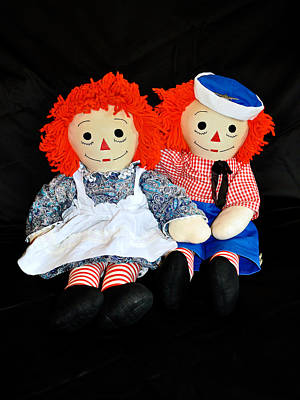 Photograph - The Raggedy Twins by Donna Proctor