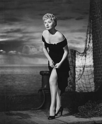 The Raging Tide, Shelley Winters, 1951 Art Print by Everett