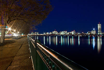 Photograph - The Rail Boston Ma by John McGraw