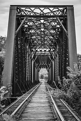 Photograph - The Rail Road Bridge by Amber Kresge