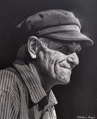 Photograph - The Railwayman by Wallaroo Images