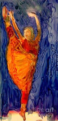 The Rain Dance Print by FeatherStone Studio Julie A Miller