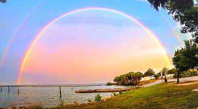 Photograph - The Rainbow by Carlos Avila