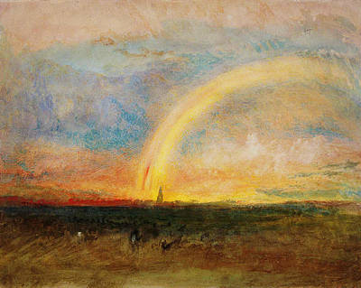 Celestial Painting - The Rainbow by Celestial Images
