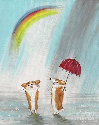 The Rainbow Art Print by Margaryta Yermolayeva