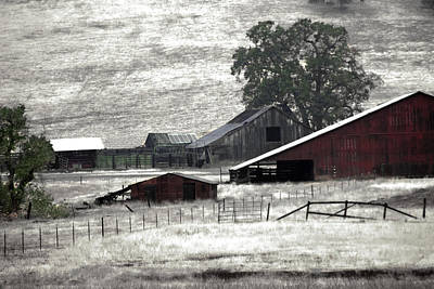 The Ranch View Art Print