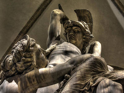 Photograph - The Rape Of Polyxena by Michael Kirk