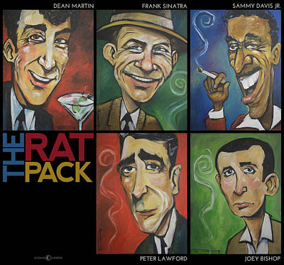 Martini Royalty-Free and Rights-Managed Images - The Rat Pack by Tim Nyberg
