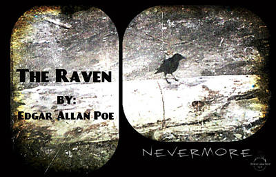 Photograph - The Raven by Absinthe Art By Michelle LeAnn Scott