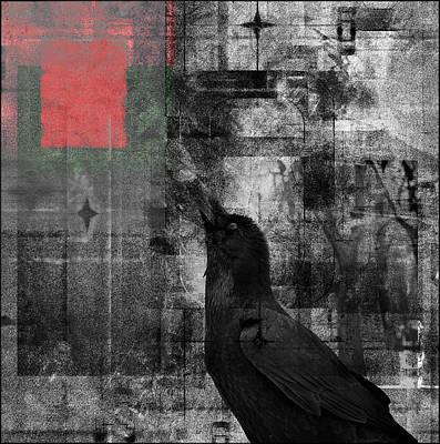 Novel Painting - The Raven - Nevermore by Douglas MooreZart