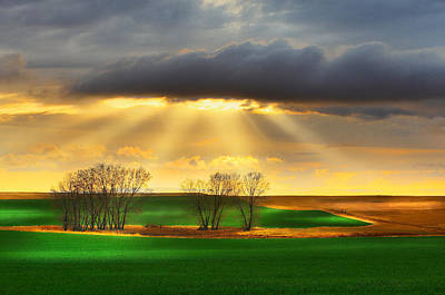 Photograph - The Ray Of Light by Kadek Susanto