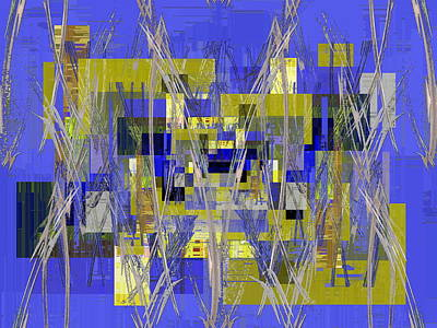 Barbed Wire Fences Digital Art - The Razors Edge 3 by Tim Allen