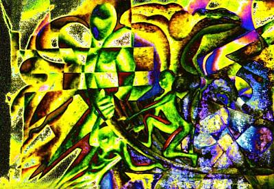 Development Mixed Media - The Real Investigator Works Alone by Genio GgXpress