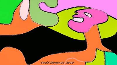 The Reaper Art Print by David Skrypnyk