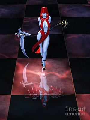 Reaper Digital Art - The Reaper Reborn by Alexander Butler