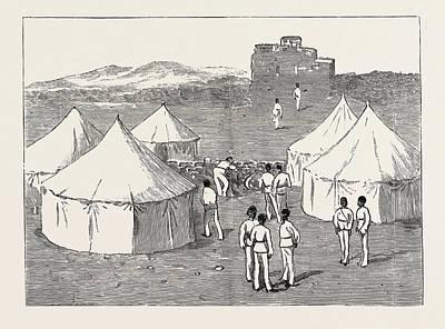 Sight Drawing - The Rebellion In The Soudan Sudan A Sad Sight The Last by English School