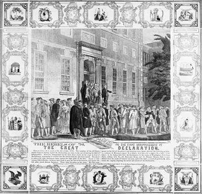 The Rebels Of 76 Art Print by Granger