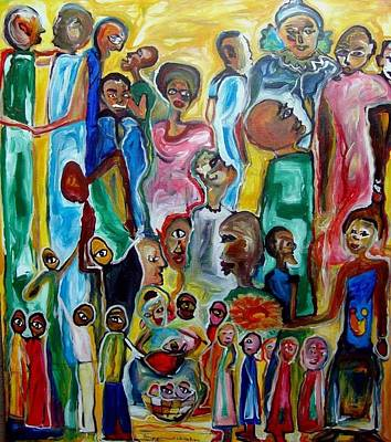 The Rebirth Of Humanity Original by Erika Bruce Innocent Buregeya