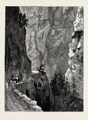 The Recent Accident In The Albula Pass, Switzerland Art Print