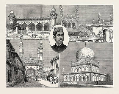 The Recent Installation Of The Nizam Of Hyderabad India 1 Art Print by Indian School