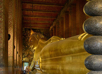 The Reclining Buddha Art Print