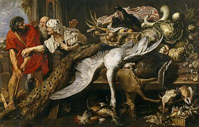 Philopoemen Painting - The Recognition Of Philopoemen by Frans Snyders