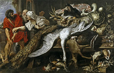 Philopoemen Painting - The Recognition Of Philopoemen by Peter Paul Rubens and Frans Snyders