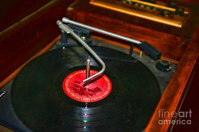 The Record Player Art Print