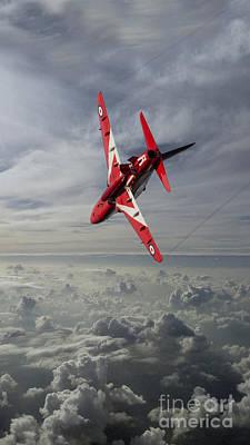 Red Tail Hawk Digital Art - The Red Arrow  by J Biggadike