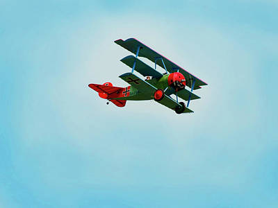 Radio Control Photograph - The Red Baron by Thomas Young