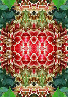 Etheric Digital Art - The Red Door To New Dimensions   by Marie-Louise Svensson