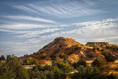 Photograph - The Red Hills by Scott Bean
