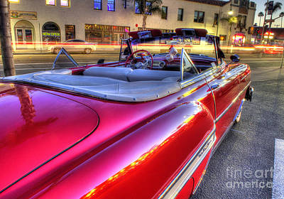Photograph - The Red Liner by Mathias